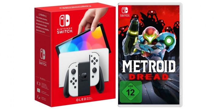 Newsbild zu Schnappt euch jetzt die Nintendo Switch (OLED-Modell) inkl. Metroid Dread für 399 Euro
