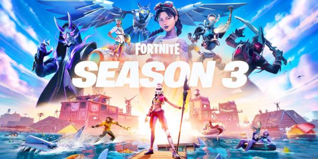 Newsbild zu Fortnite Kapitel 2 – Saison 3 setzt die gesamte Welt unter Wasser