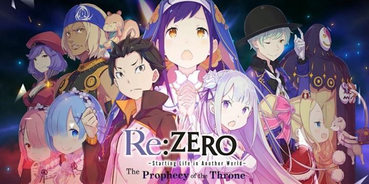 Newsbild zu Opening-Video zu Re:ZERO -Starting Life in Another World- The Prophecy of the Throne veröffentlicht