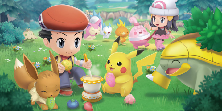 Newsbild zu Pokémon Strahlender Diamant und Leuchtende Perle – Neuer Trailer stellt Pokétch-Funktionen, Knursp-Zubereitung und mehr vor