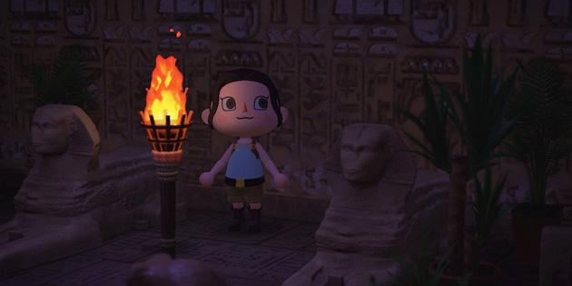 Newsbild zu Lara Croft trifft auf Animal Crossing: New Horizons – Entwickler von Tomb Raider entwerfen Outfits der Abenteurerin