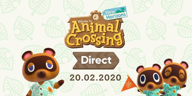 Newsbild zu Schaltet am Donnerstag zu einer Animal Crossing: New Horizons Direct ein