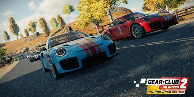 Newsbild zu Gear.Club Unlimited 2 Porsche Edition wird im November für Nintendo Switch erscheinen