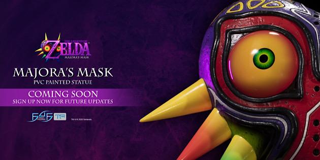 Newsbild zu The Legend of Zelda: Majora's Mask – First 4 Figures kündigt neue Statue im Design der ikonischen Maske an