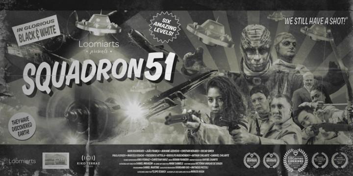 Newsbild zu Besucher aus dem All – Shoot 'em up Squadron 51 für 2021 angekündigt