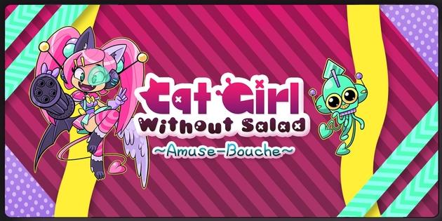 Newsbild zu WayForward veröffentlicht das Shoot 'em up Cat Girl Without Salad: Amuse-Bouche überraschend auf der Nintendo Switch