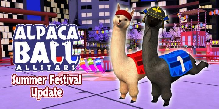 """Newsbild zu """"Japanese Summer Festival""""-Update bereichert Alpaca Ball: Allstars um neue Arena und Kostüme"""