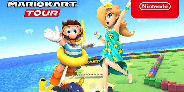 Newsbild zu Mario Kart Tour: Neuen Spielspaß verspricht die Meeres-Tour-Saison