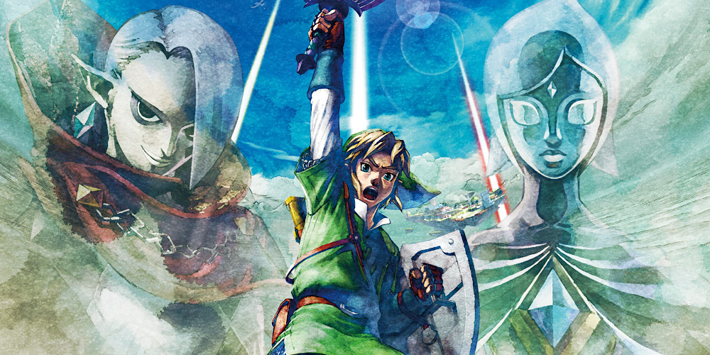 The Legend of Zelda: Skyward Sword - Keyart