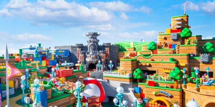 Newsbild zu Der Bau geht voran: Neue Aufnahmen zur Super Nintendo World in Hollywood aufgetaucht
