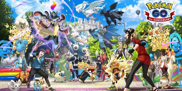 Newsbild zu Zum vierten Geburtstag: Neuer Werbeclip verrät Details zum diesjährigen Pokémon GO Fest