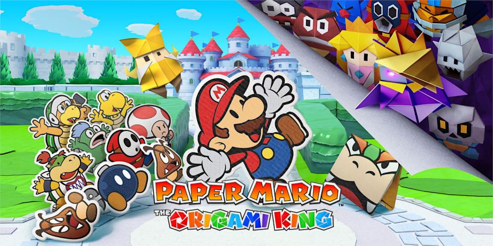Paper Mario: The Origami King - Keyart