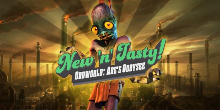 Newsbild zu Veröffentlichungsdatum für die Nintendo Switch-Version von Oddworld: New 'n' Tasty bekannt gegeben