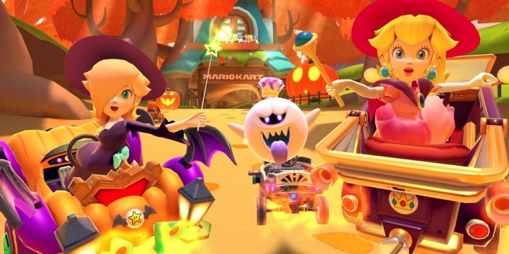 Newsbild zu Süßes sonst gibt's Saures: Die Halloween-Tour-Saison startet heute in Mario Kart Tour