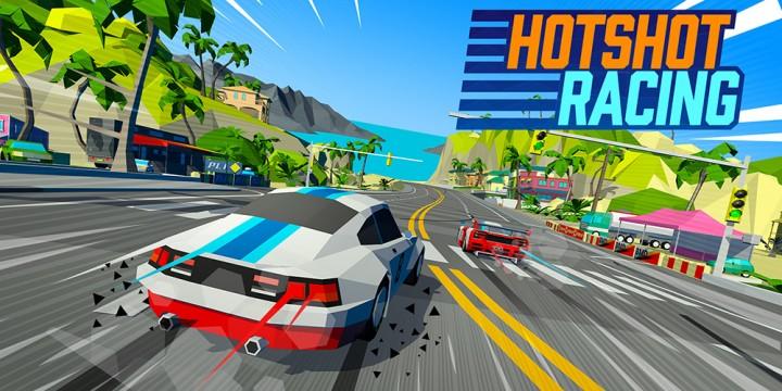 Newsbild zu Hotshot Racing: Meilenstein von 500.000 Downloads erreicht und Update 1.0.2 ab sofort verfügbar