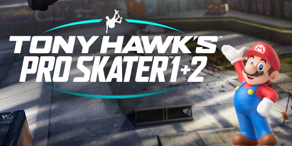 Tony Hawk's Pro Skater 1 + 2 + Mario