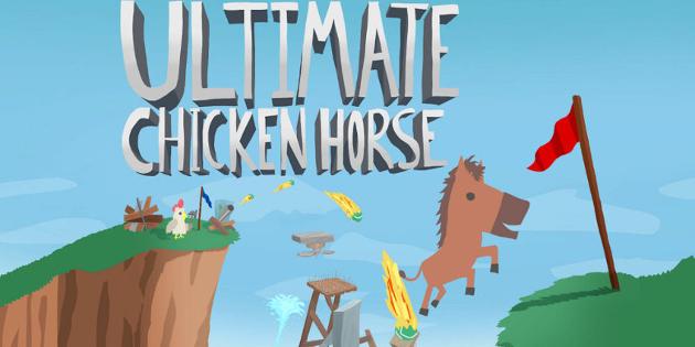 Newsbild zu März-Update für Ultimate Chicken Horse verfügbar – Neue Inhalte erweitern den Mehrspieler-Spaß