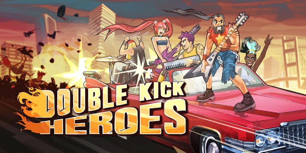 Double Kick Heroes - Keyart