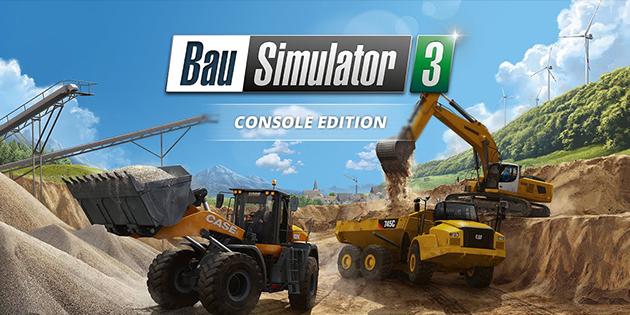 Newsbild zu Werdet zum Bauarbeiter: Der Bau-Simulator 3 - Console Edition erscheint dieses Jahr für die Nintendo Switch