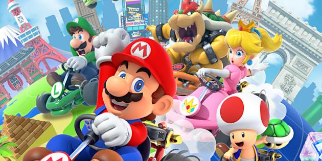 Newsbild zu Mario Kart Tour für die Google Play-Awards nominiert