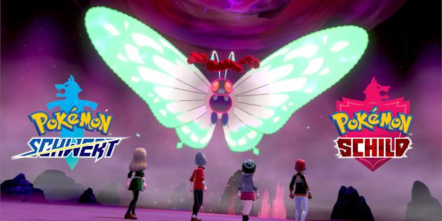 Newsbild zu Pokémon Schwert und Schild – Erstes Event lässt euch unter anderem vermehrt auf Gigadynamax-Smettbo treffen