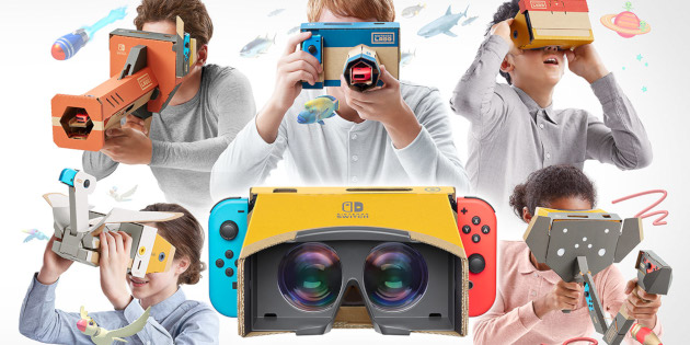 Newsbild zu VR für die Nintendo Switch – Nintendo Labo: Toy-Con 04 - VR-Set angekündigt