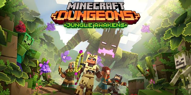 Newsbild zu Minecraft Dungeons: Erstes DLC-Paket ab dem 1. Juli erhältlich