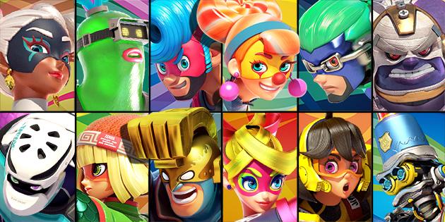 Newsbild zu Erinnerung: Seht euch hier um 16 Uhr die Präsentation zum neuen ARMS-Charakter für Super Smash Bros. Ultimate an