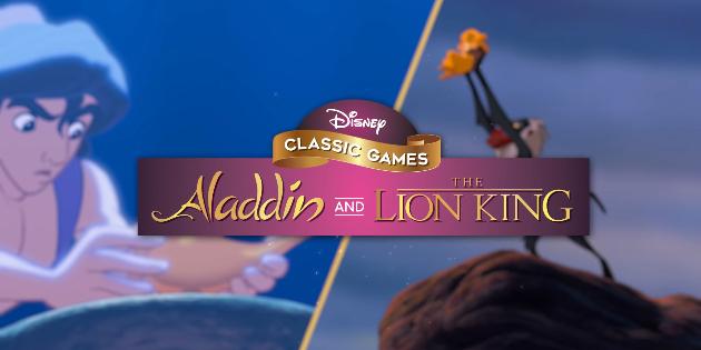 Newsbild zu Veröffentlichungstrailer zu Disney Classic Games: Aladdin and The Lion King erschienen