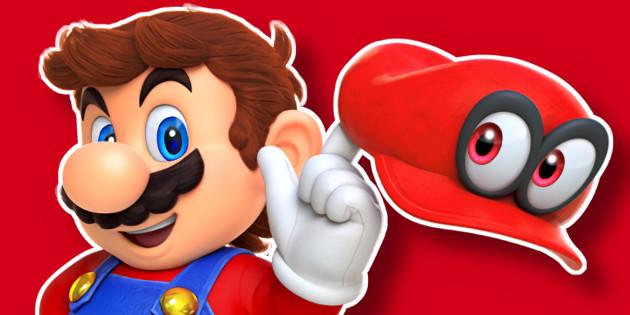 Termin für Super Mario Odyssey