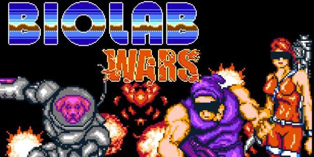Newsbild zu Die 8-Bit-Ballerei Biolab Wars erscheint nächste Woche für Nintendo Switch