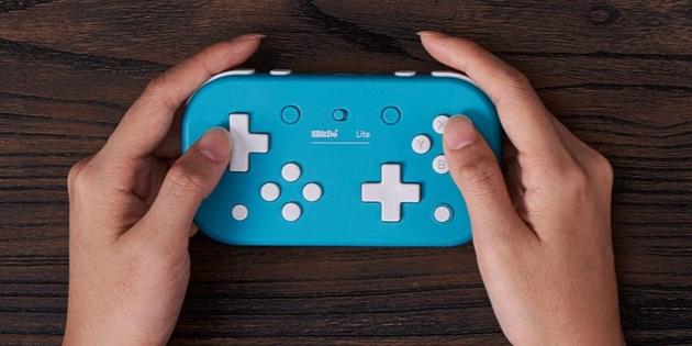 Newsbild zu 8BitDo veröffentlicht passenden Controller zur Nintendo Switch Lite