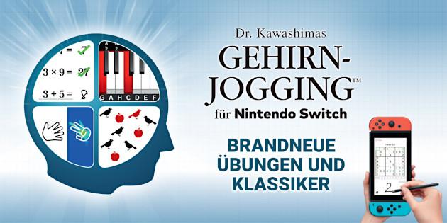 Newsbild zu Diese Gewinner dürfen sich über Dr. Kawashimas Gehirn-Jogging für Nintendo Switch freuen