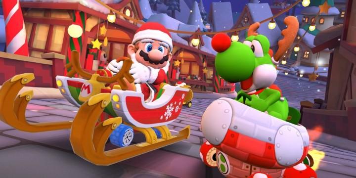 Newsbild zu Es wird frostig: Die Winter-Tour-Saison startet heute in Mario Kart Tour – Ergebnisse der ersten Team-Rallye bekannt gegeben