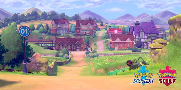 Newsbild zu Art Director von Pokémon Schwert und Schild erklärt die britische Inspiration für die Galar-Region