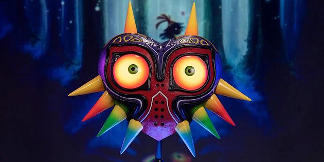 Newsbild zu First 4 Figures zeigt die neueste Kreation der einzigartigen Maske aus Majora's Mask im Detail