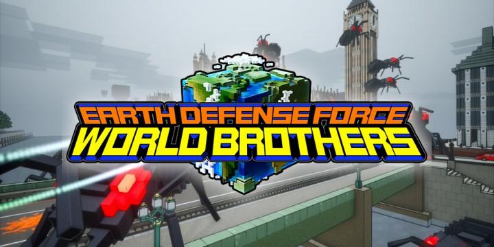 Newsbild zu Pixel-Pracht – Schaut euch einige neue Bilder von Earth Defense Force: World Brothers an