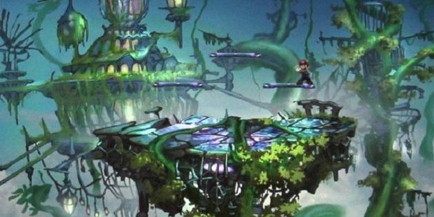 Newsbild zu Super Smash Bros. Ultimate: Seht euch unterschiedliche Konzeptzeichnungen zur Schlachtfeld-Stage an