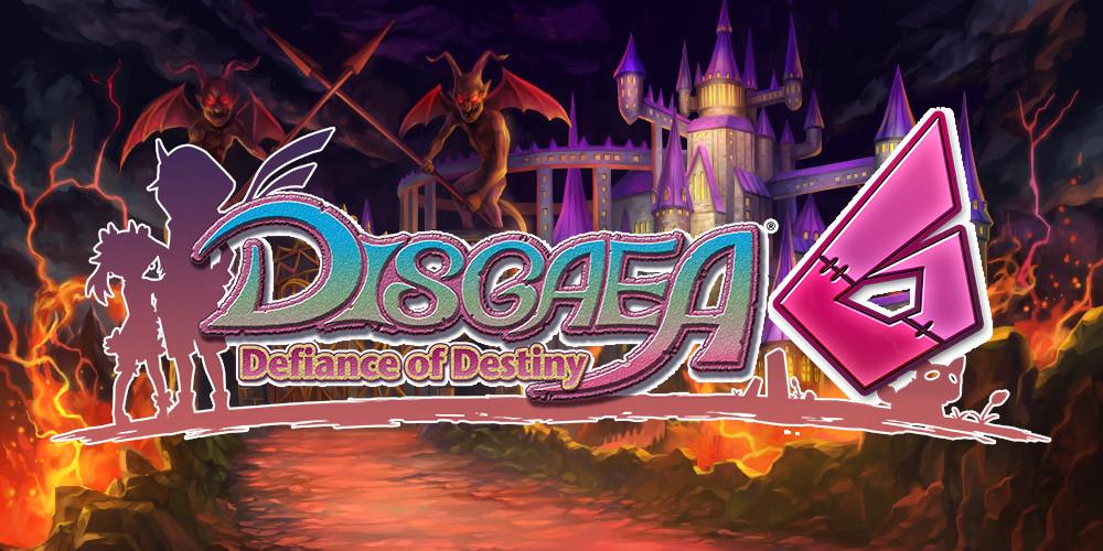 Disgaea 6: Defiance of Destiny - Logo