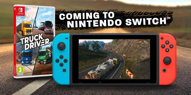 Newsbild zu Lkw-Fans aufgepasst: Truck Driver erscheint dieses Jahr für Nintendo Switch