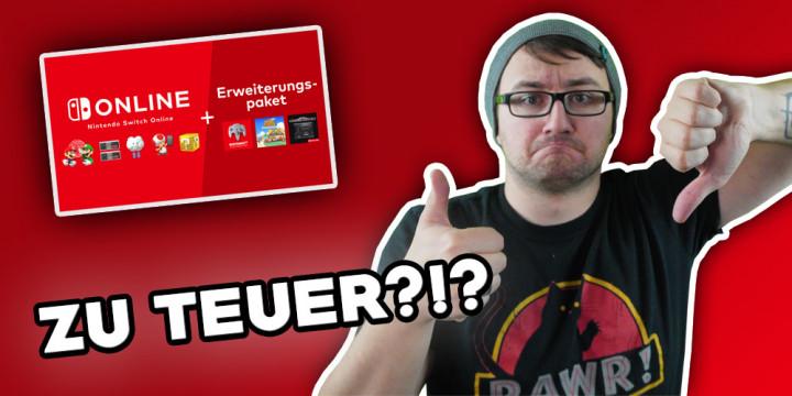 Newsbild zu Ein Kommentar: Ist Nintendo Switch Online + Erweiterungspaket zu teuer!?!