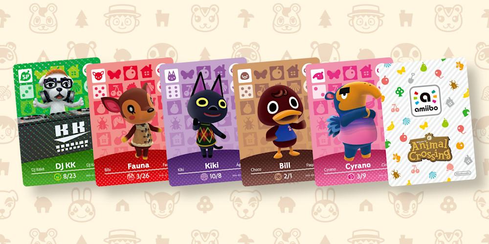 Animal Crossing - amiibo-Karten