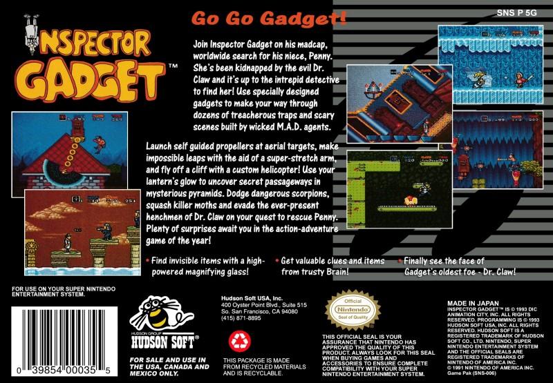 Inspector Gadget Ntower