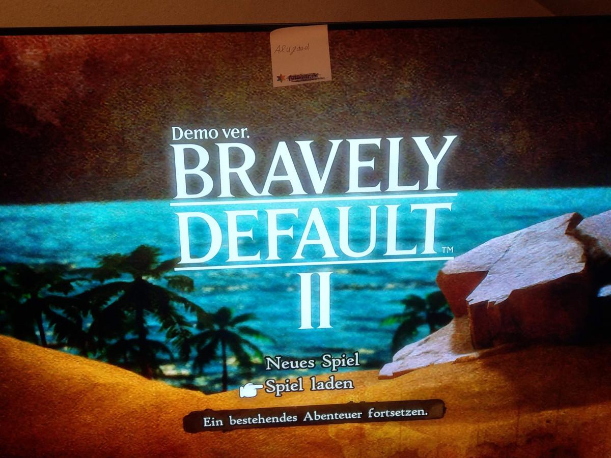 Teilnahme Gewinnspiel Bravely Default 2