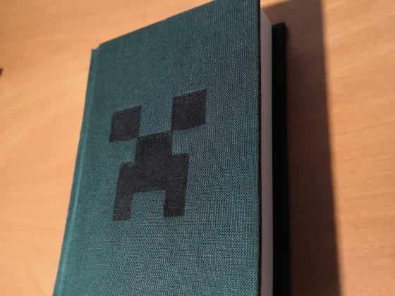 Selbstgemachtes Minecraft-Notizbuch