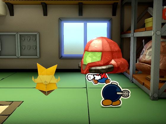 Paper Mario Metroid Teaser