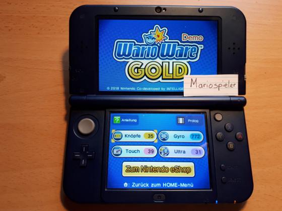 Wario Ware Gold Gewinnspiel 2. Bild