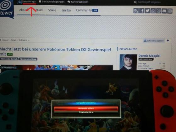 Pokemon Tekken Demo Switch
