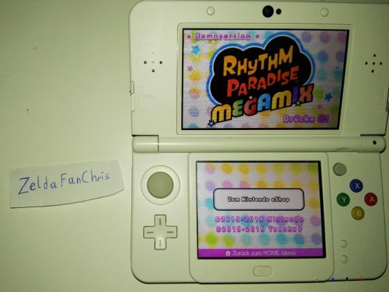 Rhythm Paradise Megamix Bild für Gewinnspiel