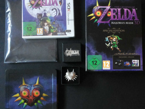 The Legend of Zelda: Majora's Mask 3D - Special Edition